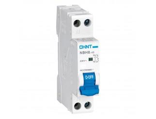 Interruttore Magnetotermico 16A CHINT Tipo A 1P+N 4,5 kA NBH8