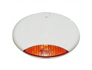 Sirena Da Esterno Lampeggiante Allarme Autoalimentata AMC ELETTRONICA ISIDE 130