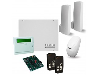 KIT ANTIFURTO ALLARME PIR WIRELESS SENZA FILI CASA COMBINATORE PSTN AMC KIT-150