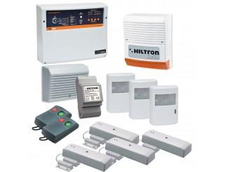 Antifurto Allarme casa Kit Wireless Senza Fili HILTRON KD5007 Sirena Sensori Pir