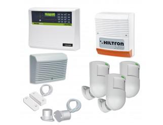 Kit Allarme Centrale Antifurto Casa Combinatore Gsm Sirena CIA HILTRON Protec 6