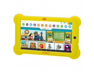 Tablet 7 Pollici per Bambini Android Quadcore PC TREVI KID TAB Giallo 8 GB