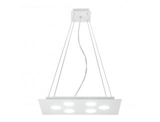 Lampadario a Sospensione Soffitto Flet 6 Lampadine Moderno Illuminazione Piatto