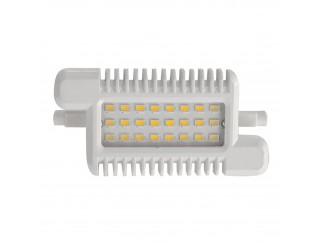 Lampada Lampadina Faro Faretto R7s 24 LED LIFE Luce Bianca Calda 10 Watt 700 Lm