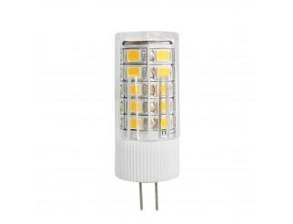 Lampada Lampadina G4 3 W Led SMD Luce Bianco Caldo per Faretto 12V 2 Pin