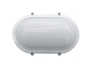 Plafoniera Da Esterno Ovale : Plafoniera esterno ovale bianca in