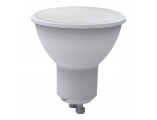 Lampadina LED Lampada Attacco GU10 Faretto Luce Bianca Calda LIGHT 5 WATT MR16