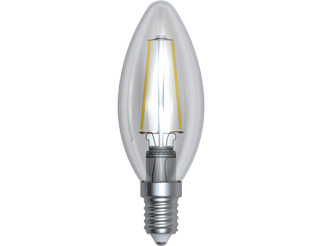LAMPADA LED A FILAMENTO OLIVA E14 2W 6400K LIGHT