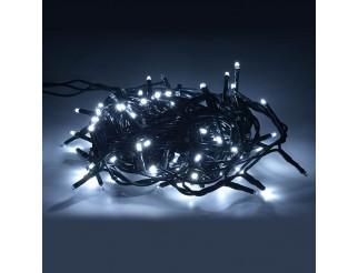 Luci di Natale 100 Led Albero Illuminazione Luce Fredda 220V Festa