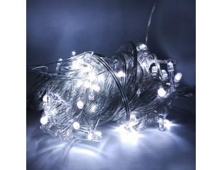 Luci Mini Lucciole 100 LED 220V Luce di Natale Albero Presepe Bianco Freddo