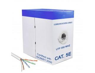 Matassa Cavo Rete 305 Metri Bobina Ethernet Cat Categoria 5e UTP RJ45 LAN LIFE