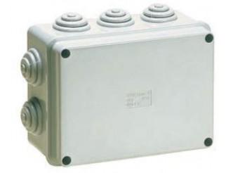 Scatola stagna Cassetta di derivazione 10 passacavi liscia IP55 19x14x7,5 cm KML