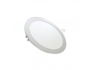 Pannello LED bianco Rotondo 6000K 1000lm IP20 12W V-TAC