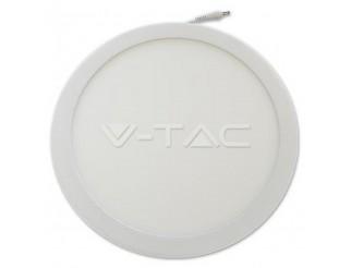 V-TAC 22W Pannello LED montato superficie Rotondo Bianco Freddo