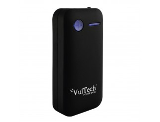 BATTERIA ESTERNA POWER BANK 5200 MAH CARICABATTERIA USB PER TABLET VULTECH NERO