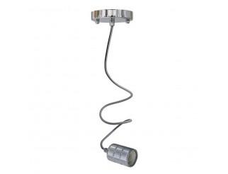 LIFE Pendant in metallo attacco E27 100W max cavo 1m colore Silver
