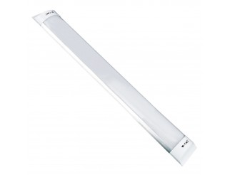 Plafoniera LED Applique Soffitto Neon Barra SMD 40W Luce Fredda V-TAC