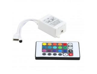 Telecomando Controller per Striscia a LED RGB Multicolore 5050 3528 24 Tasti