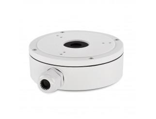 Scatola di giunzione Hikvision in alluminio bianco