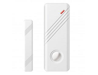 Sensore Magnetico WIRELESS Porte Finestre Centrale Allarme WIFI Antifurto 433Mhz
