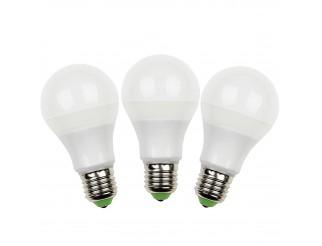 3 PZ LAMPADE LAMPADA LAMPADINE A LED LUCE BIANCA FREDDA E27 8 WATT GOCCIA LIFE