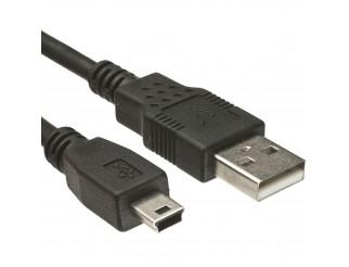 CAVO CAVETTO DATI USB TO MINI USB MASCHIO 1,5 METRI FOTOCAMERA VULTECH SC10818