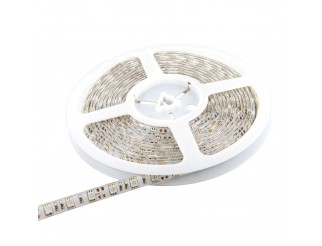 Striscia 300 LED SMD 5050 Strip 5 Mt V-TAC Luce Bianca Calda Impermeabile IP65