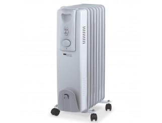 Stufa Elettrica Riscaldamento a Olio Radiatore 7 Elementi 1500 Watt Calorifero
