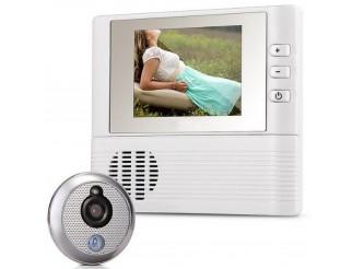 Telecamera Spioncino Campanello Elettronico LCD a Colori 2,8 Pollici Linq