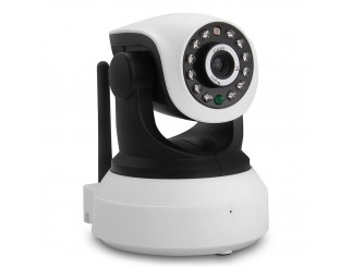 Telecamera IP Camera HD 720P Wireless Infrarossi P2P WIFI Registra MICRO SD