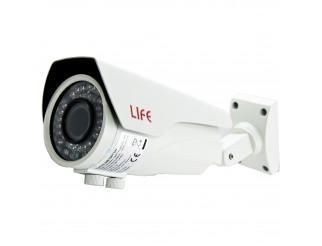 Telecamera Videosorveglianza 2 MEGAPIXEL Varifocale 3,8 - 15 mm 42 Led IR LIFE