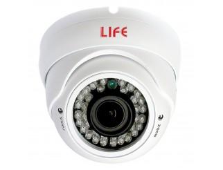 Telecamera Dome Varifocale 3,8 - 15mm LIFE 2MPX Videosorveglianza 36 LED 1000TVL