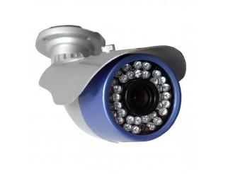 TELECAMERA VIDEOSORVEGLIANZA 700 LINEE 23 LED A COLORI DA ESTERNO INTERNO 3,6mm
