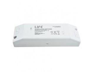 ALIMENTATORE IP20 24V 3,3A 80W INPUT 100-240Vac LIFE