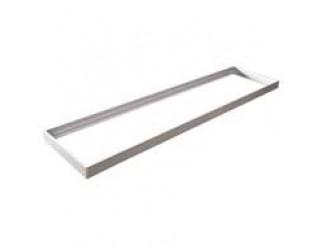FRAME MONTAGGIO A TETTO PER PANNELLI LED 39.9P034040*, L.1197 X W.300 X H.43mm Aluminium
