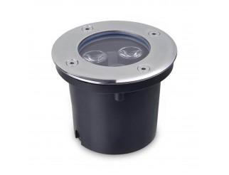 Faretto Incasso Led da Esterno Segnapasso Calpestabile IP65 3W Luce Calda