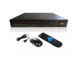 DVR 16 CANALI CH H264 VIDEOSORVEGLIANZA RETE LAN WIFI WIRELESS 3G USB REMOTO NEW