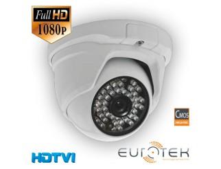 Telecamera dome HDTVI 2MPX per esterno Eurotek