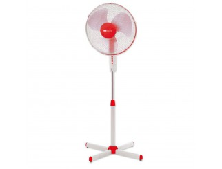 Ventilatore a Piantana Pala 40 cm 45W Oscillante Inclinabile