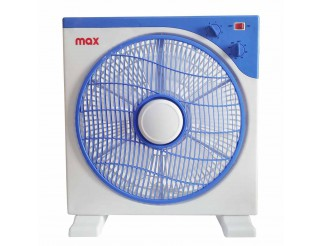 Ventilatore da Tavolo Silenzioso Box 45W Azzurro con Timer