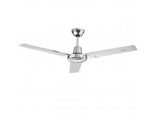 Ventilatore da Parete Soffitto Telecomando Luce Lampada CFG 3 Pale in Metallo