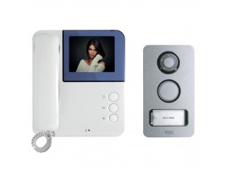 Kit Videocitofono URMET SIMPLY MIKRA Video Monitor Colori 2 Fili Monofamiliare