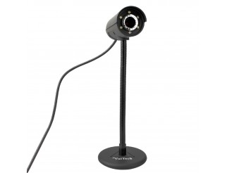 WebCam HD 30 Megapixel 6 LED USB WEB CAM Vultech WEB-30MP Microfono Autofocus