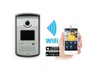 Citofono Videocitofono Senza Fili Wireless WIFI Chiamata Cellulare Doorphone