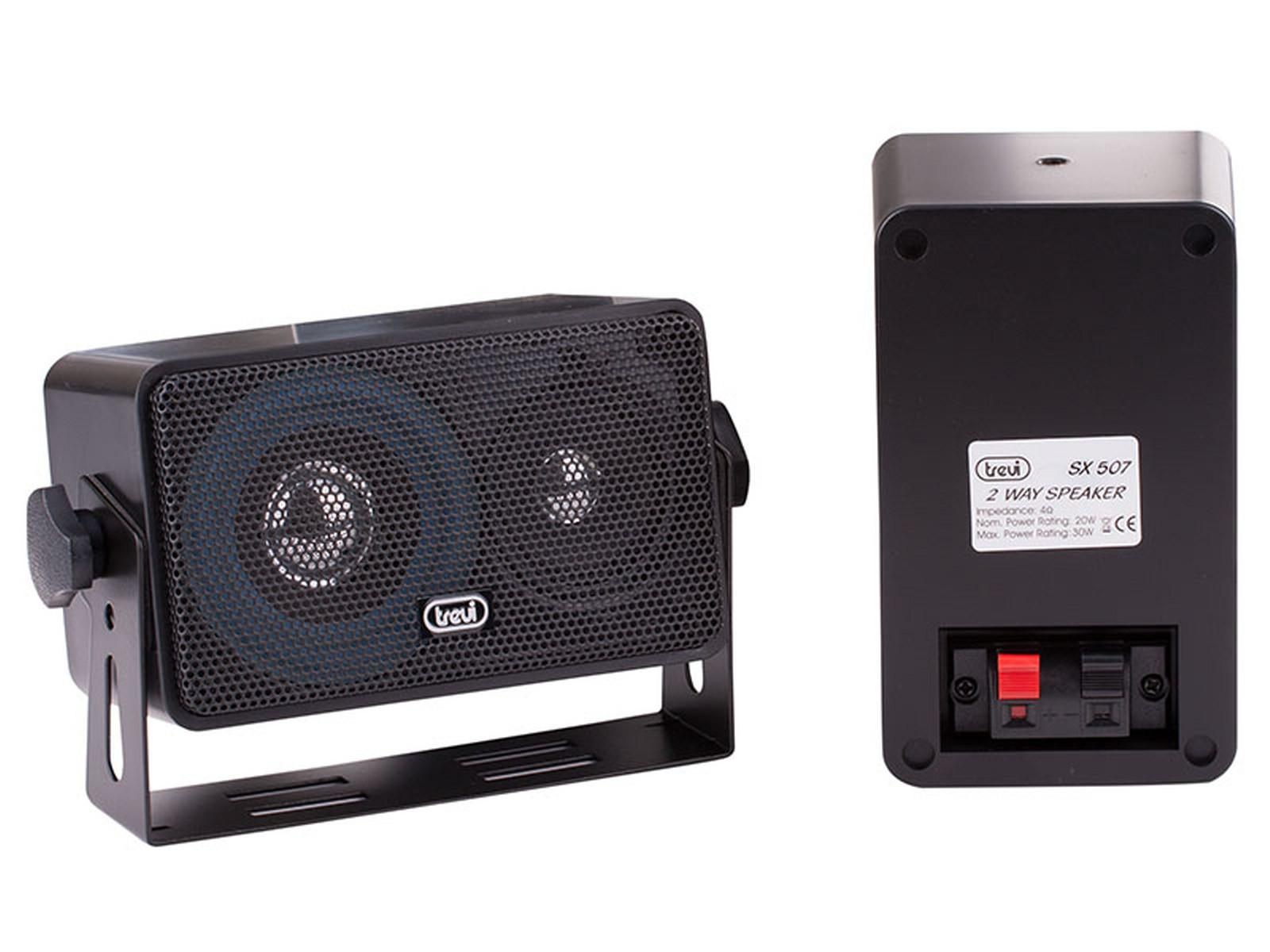 Altoparlanti trevi a 2 vie da esterno universali speakers casse acustiche audio area illumina - Altoparlanti da esterno ...