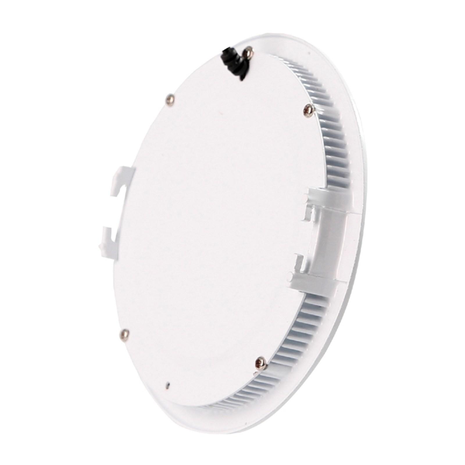 Faro faretto pannello led luce bianca calda 25 watt for Led luce calda