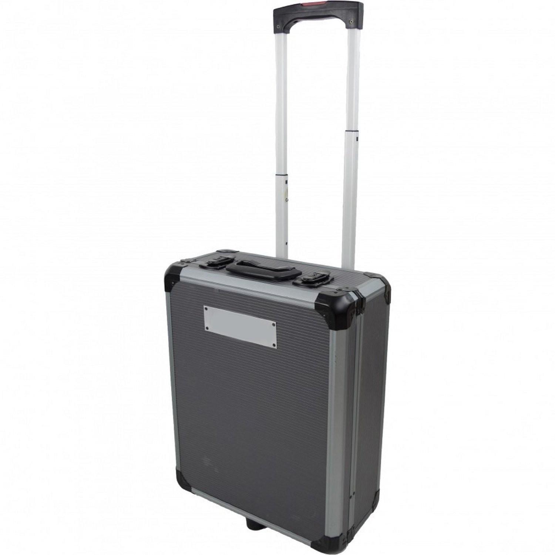 cassetta degli attrezzi da lavoro completa valigia trolley