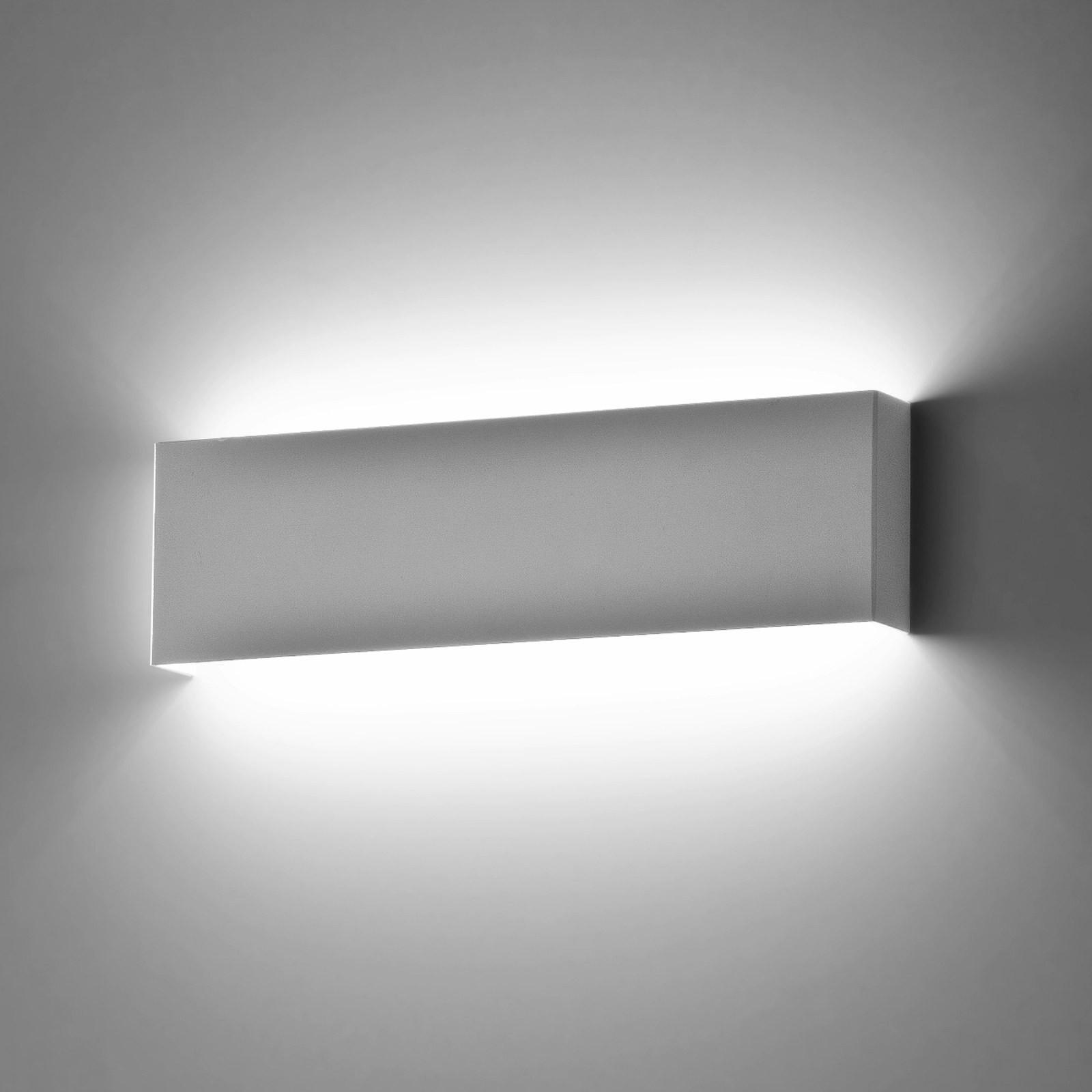 Applique lampada da parete a led moderno luce calda bianco - Plafoniere da esterno moderne ...