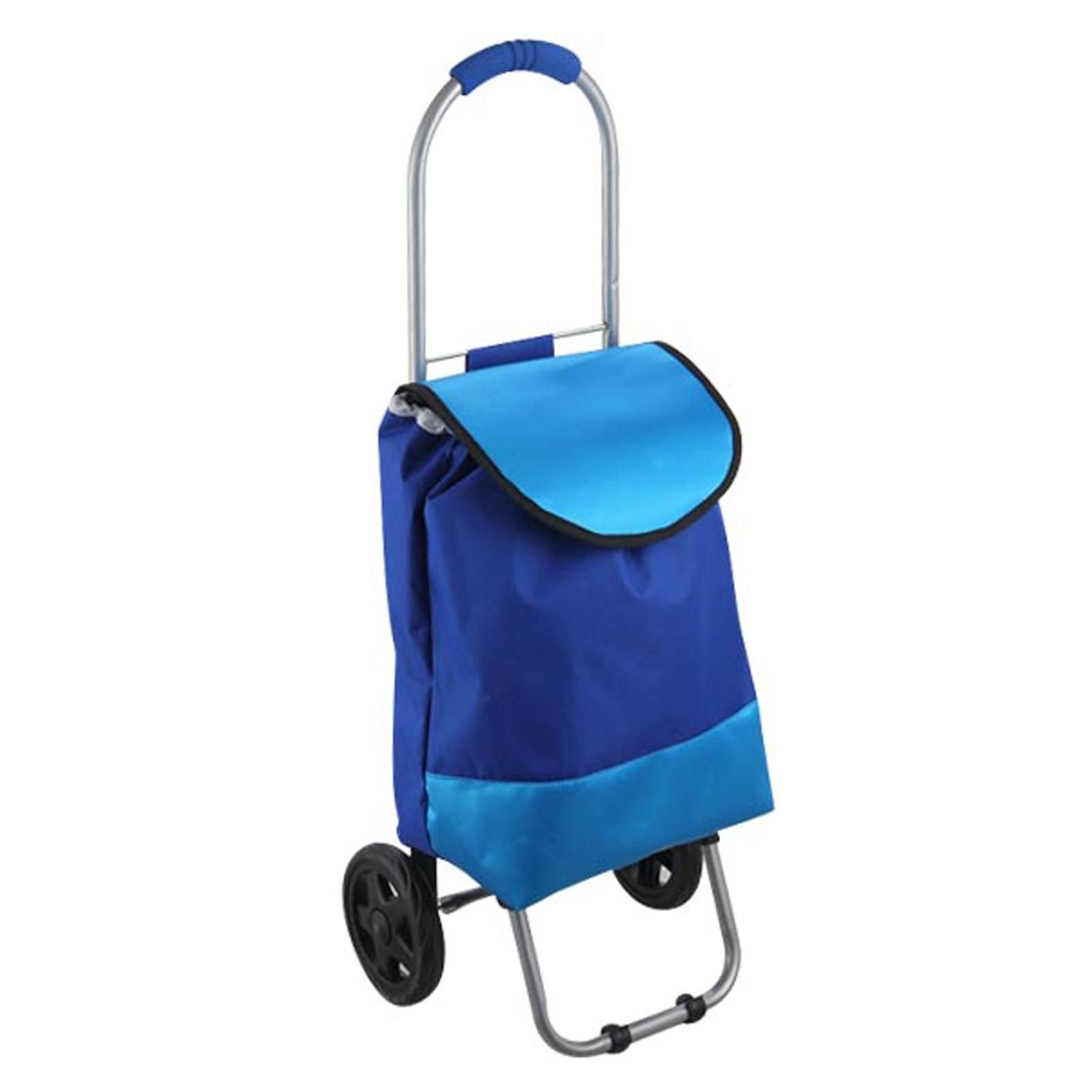 Carrello per la spesa 2 ruote borsa porta spesa trolley for Carrello porta ombrellone e sdraio