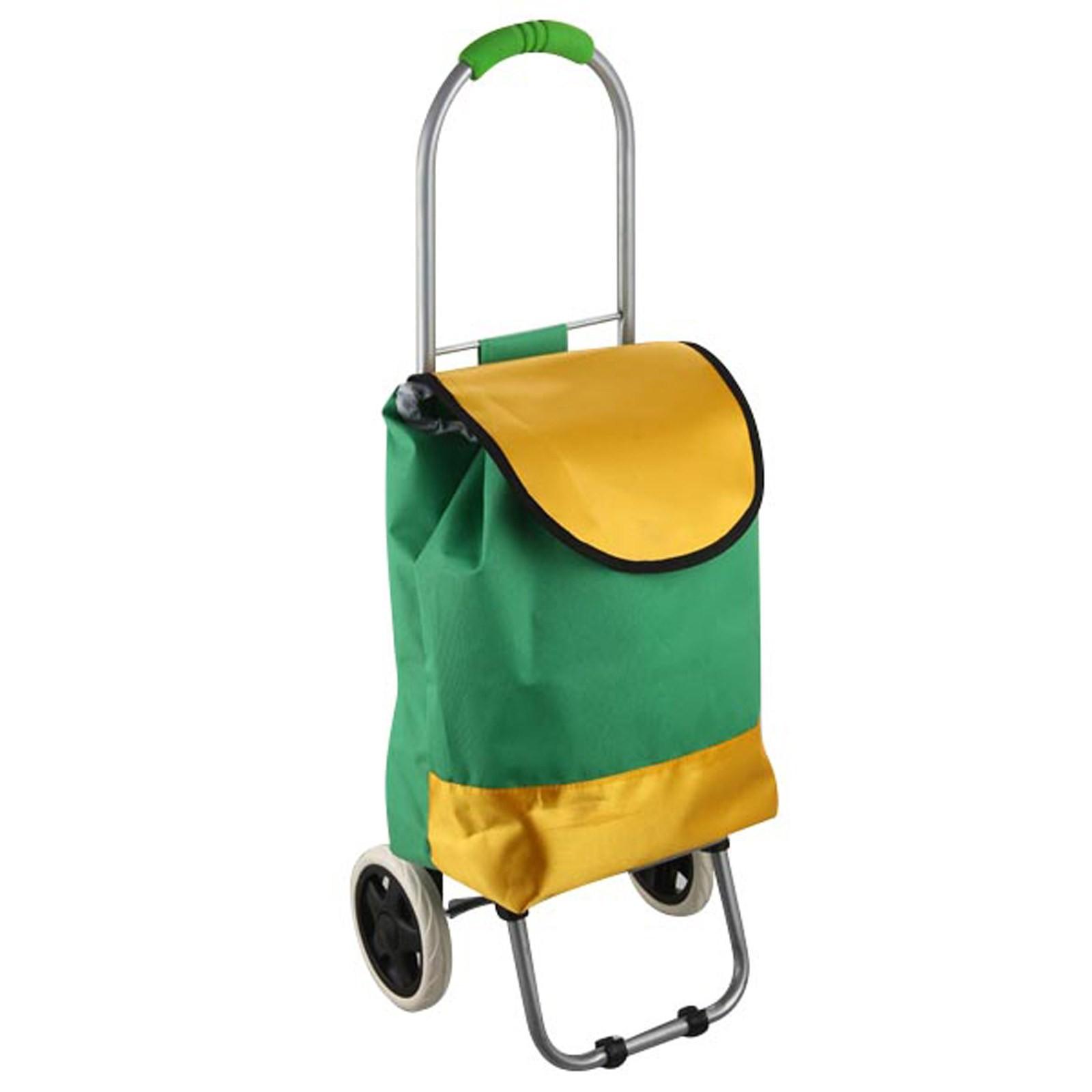 Carrello per la spesa 2 ruote borsa porta spesa trolley for Porta pieghevole